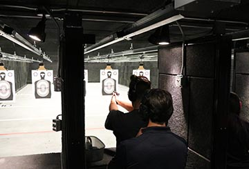 shoot center firearms training